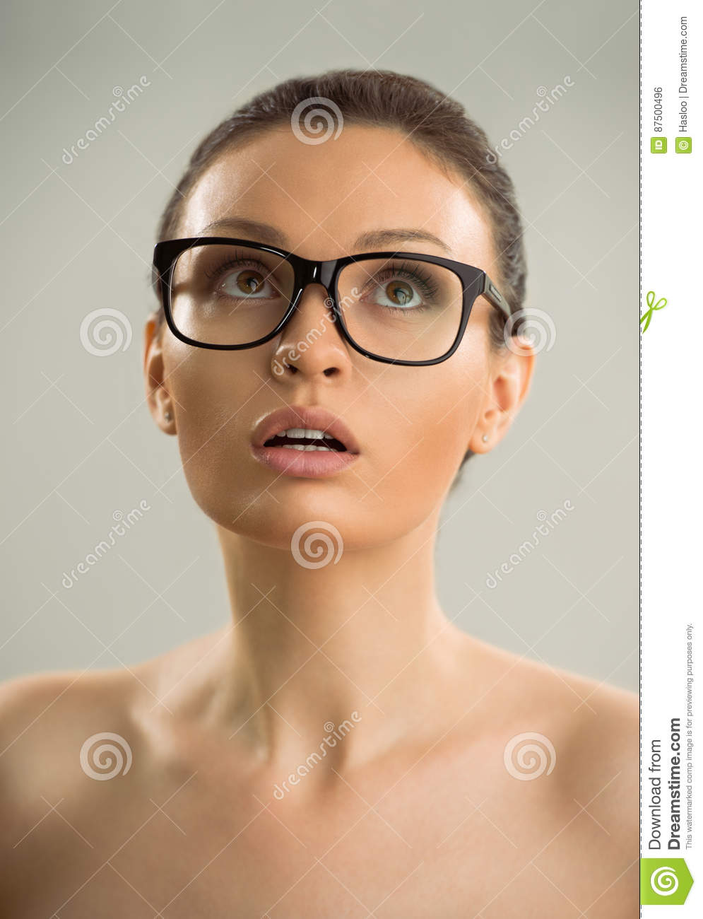 Sexy naked ladies wearing glasses