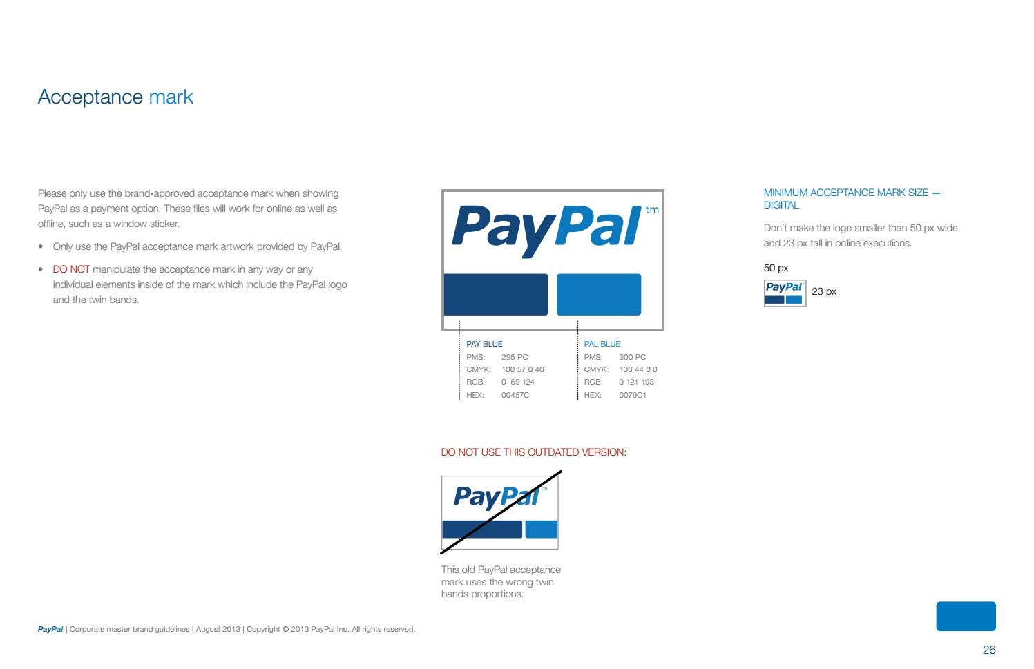 Paypal for bands
