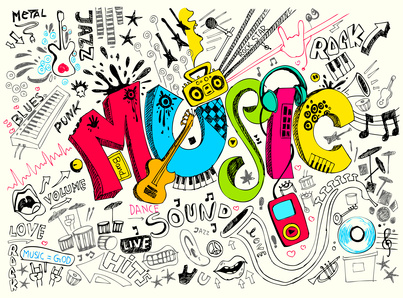 Music is on