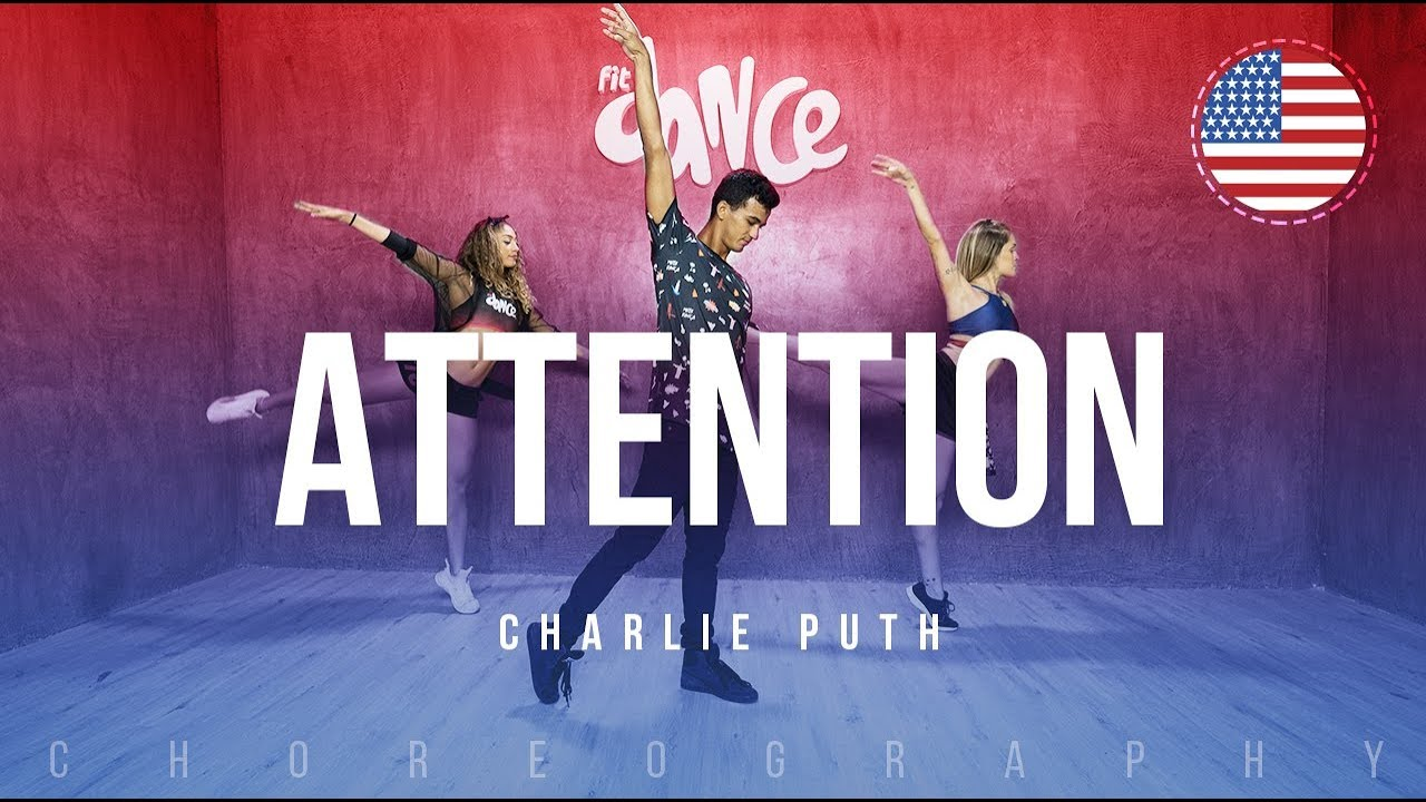 Attention charlie puth dance