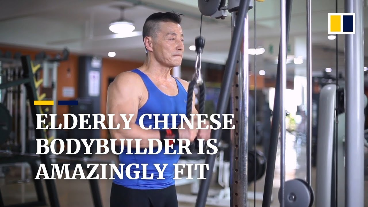 Chinese workout guy