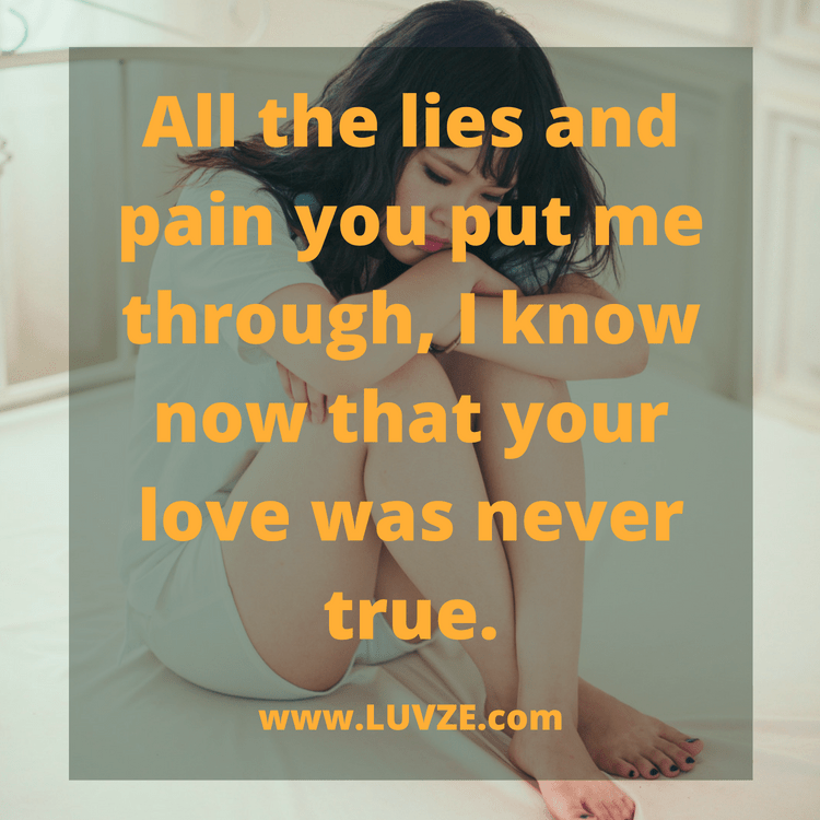 False love meaning