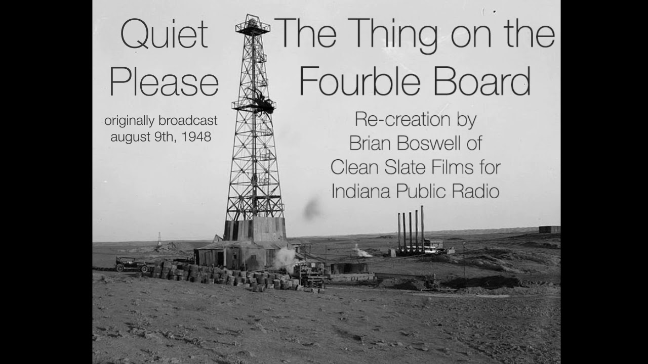 The thing on the fourble board